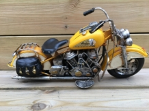 "Handgemaakte Harley shovel head ""INDIAN"" model."